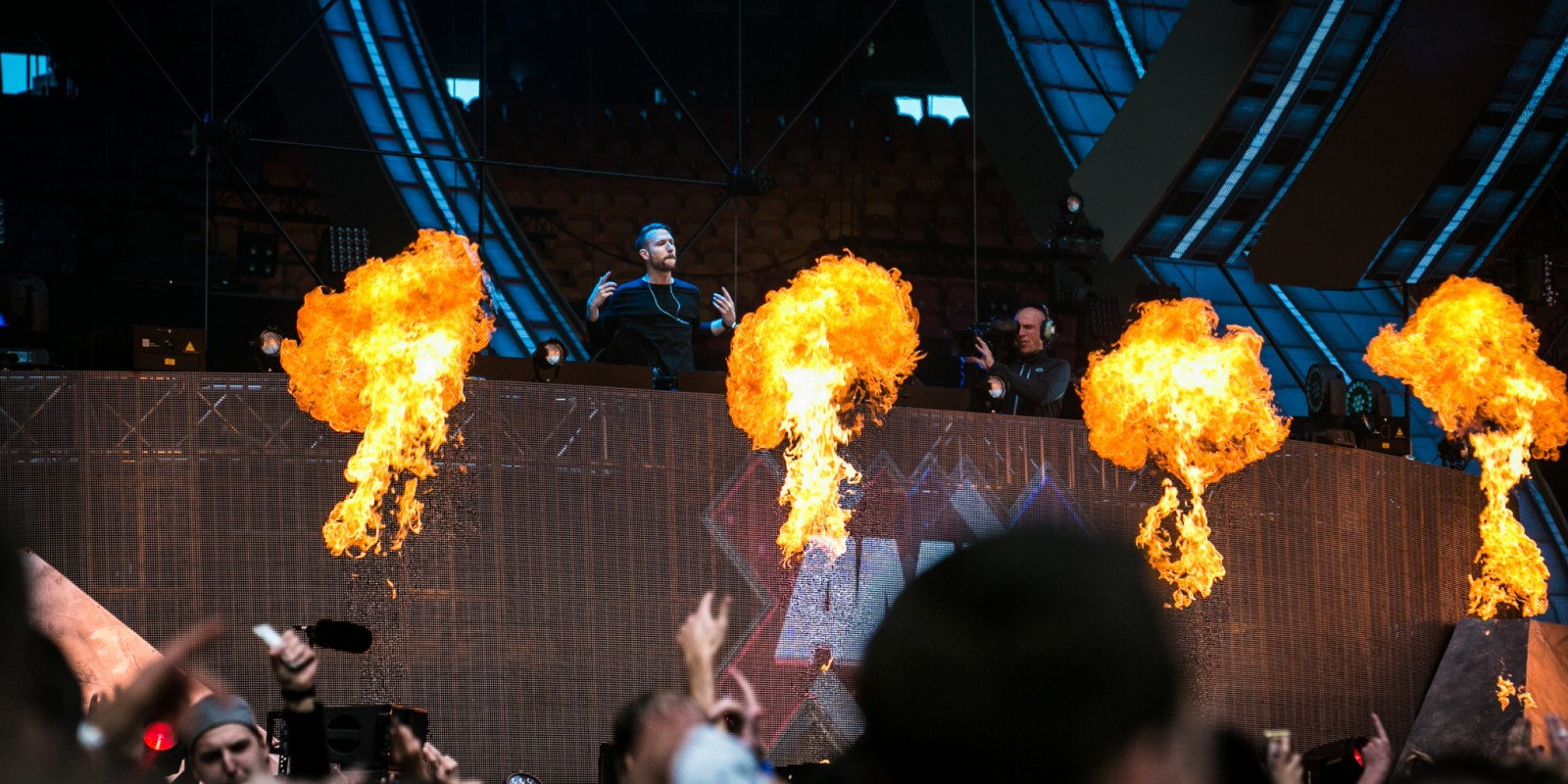 Don Diablo performing at AMF!