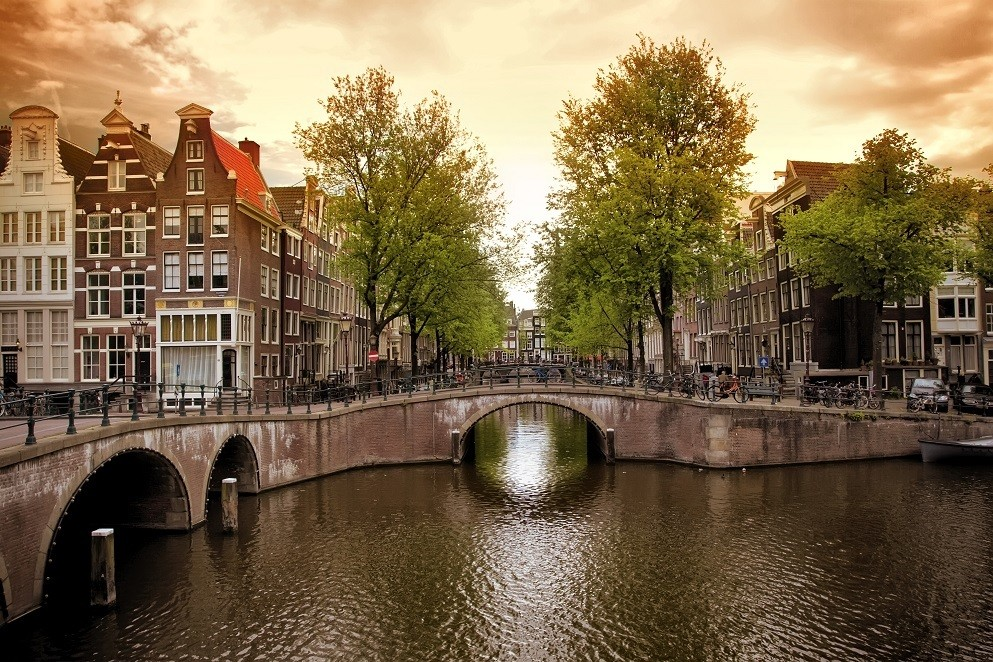 Beautiful Amsterdam is the home of AMF
