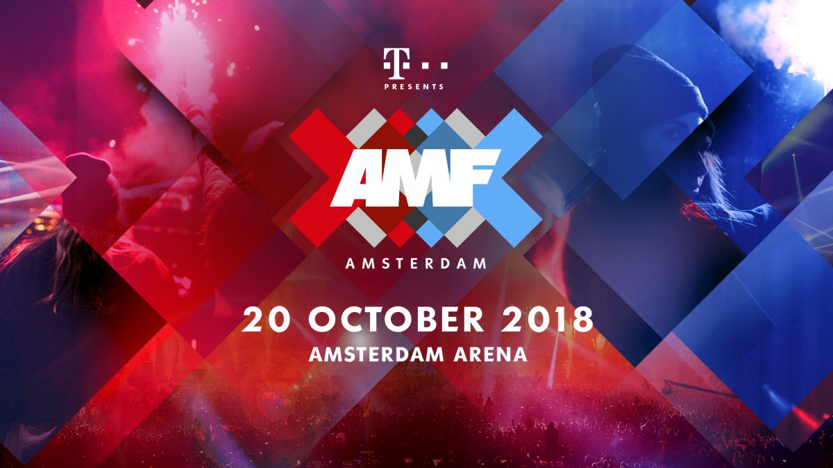 AMF 2018 is back in the Amsterdam ArenA during the Amsterdam Dance Event!